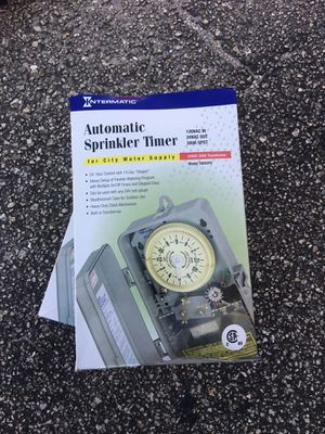 Automatic sprinkler timer new for Sale in West Palm Beach, FL