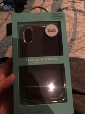 Kate spade iPhone X for Sale in Washington, PA