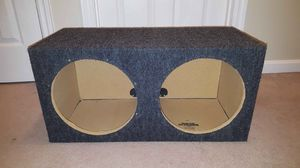 """2 12"""" Subwoofer Box for Sale in Maynard, MA"""