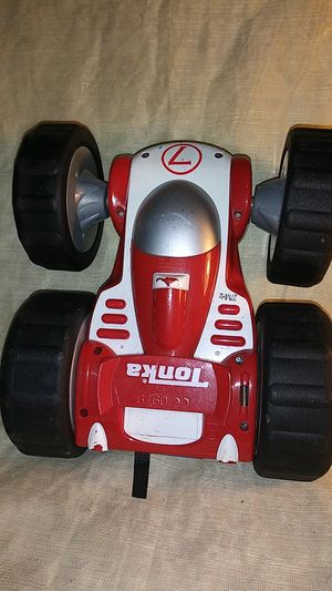 """Tonka """"RARE"""" Flip Bounce Back Racer R/C 27 MHz Two Sides Car Red/Blue Traxx for Sale in Port Huron, MI"""