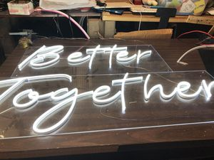 Personalized led neon sign ,el wire neon sign and led channel letter sign for Sale in Cheektowaga, NY