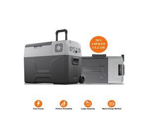 Portable Freezer Electric Cooler Car Refrigerator Fridge 50 L for Sale in Las Vegas, NV