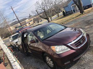 2009 Honda Odyssey EXL touring en perfectas condiciones puedes traer a su mecánico. 148 millas car fax disponibles tituló limpio un solo dueño for Sale in Gaithersburg, MD
