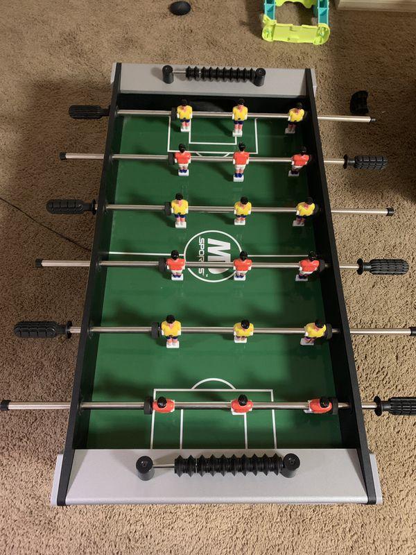 3 in 1 pool/air hockey/foosball table
