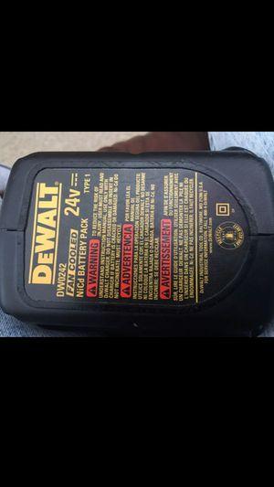 24v xr + NiCd fan cooled dewalt battery for Sale in Clearwater, FL