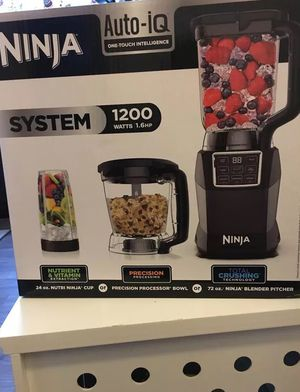Ninja Kitchen System with Auto IQ Boost and 7-Speed Blender for Sale in Washington, DC