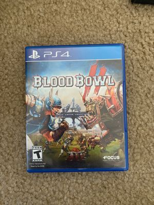 Blood Bowl PS4 for Sale in Gilroy, CA