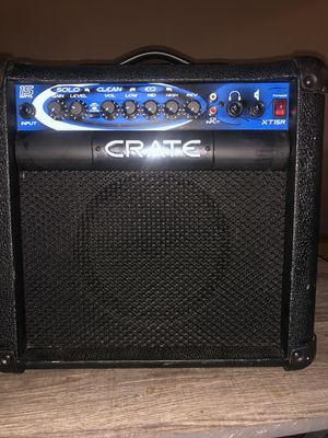 Crate guitar combo 100 OBO for Sale in Bloomington, CA
