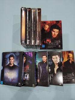 Angel Complete TV Series DVD 5 Box Set for Sale in El Paso,  TX