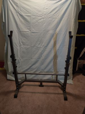 """Weight Rack 40""""wide 39""""-46""""Tall for Sale in Lacey, WA"""