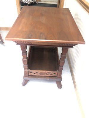 Antique Walnut Side Table for Sale for Sale in Roanoke, IL