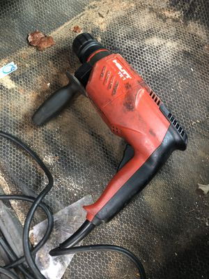 Hilti te1 hammer drill for Sale in Albany, GA