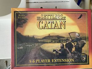 Settlers of Catan board game expansion 5-6 player. Brand new. Still sealed. for Sale in Warminster, PA
