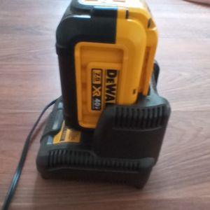 Dewalt 7.5 Xr 40v Lithium Ion Batterey And Charger New for Sale in Campbell, CA