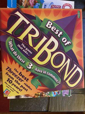 Tribond board game for Sale in Vienna, VA