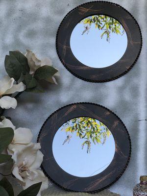 Home interiors Rare Wrought iron mirrors home decor for Sale in Dallas, TX