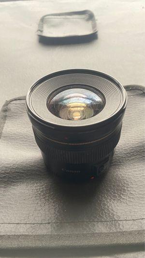 Canon 20mm 2.8 prime lens for Sale in Newport News, VA