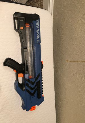 Nerf Rival Auto Fire MXV-1200 w bullets for Sale in Arlington, VA