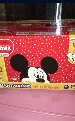 $35, Huggies Diapers Size 4 for Sale in Pico Rivera,  CA