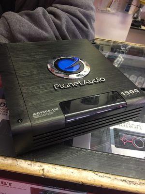 Planet audio 1500 for Sale in Detroit, MI