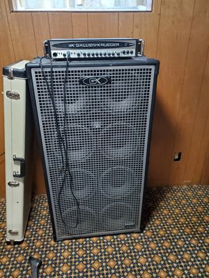 Gallien krueger bass neo 810 cabinet and head for Sale in Heritage Creek, KY