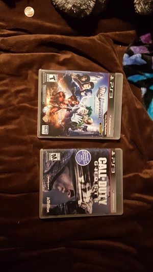 PS3 Games Call of duty Ghosts and DC Universe online for Sale in Portland, OR
