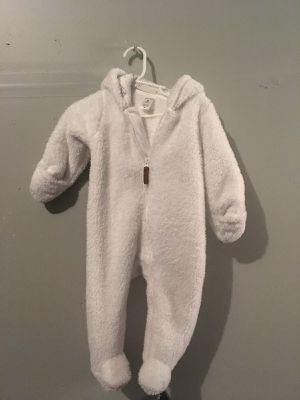 Warm white onesie for Sale in San Leandro, CA