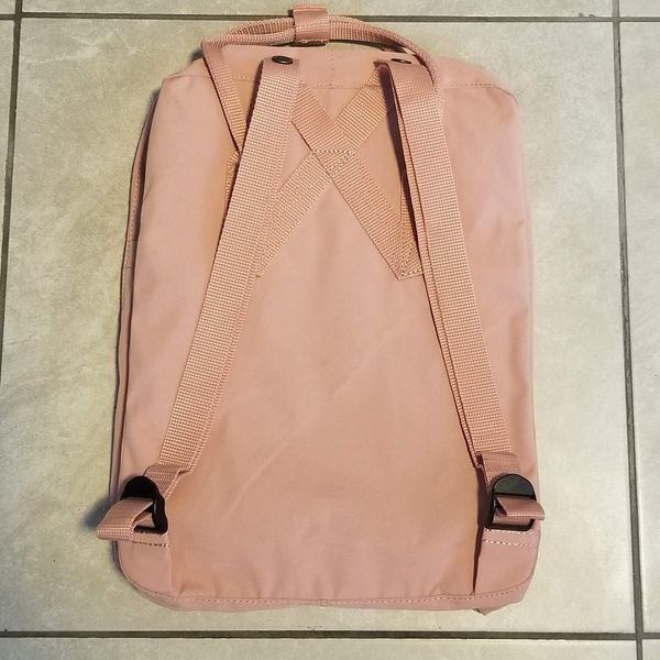 BRAND NEW PINK FJALLRAVEN KANKEN BACKPACK CLASSIC 16L WITH TAGS