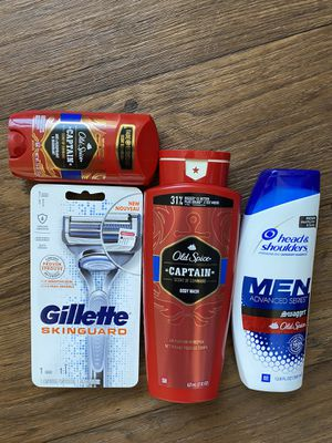 Old spice captain body wash bundle for Sale in Los Angeles, CA