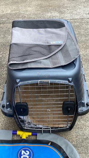 Petmate medium dog crate and car door cover for Sale in Millbrae, CA