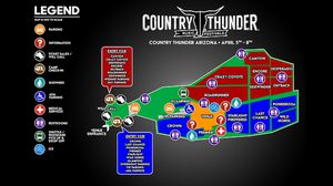 2021 Country Thunder General 4-day pass for Sale in Cave Creek, AZ