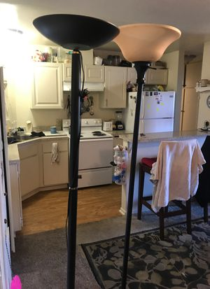 Tall floor lamps for Sale in Huntington Beach, CA