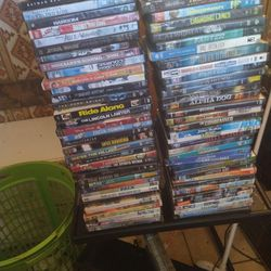 DVD'S 120 OF THEM And Portable Dvd Player for Sale in Tucson,  AZ