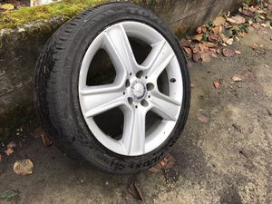 Mercedes Wheel 17 inch 5 lug 245/40R17 95W - C300 and more for Sale in SeaTac, WA