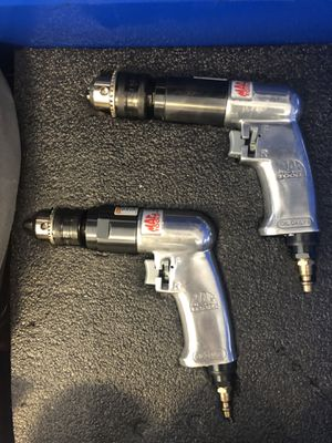 """Power drills - Set - Pneumatic- Mac Tools 3/8"""" and 1/2"""" for Sale in Miami, FL"""