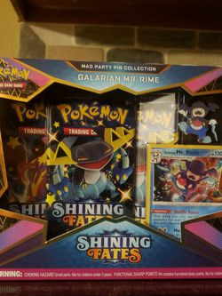 Pokemon Shining Fate Galatians Mr Rime Set for Sale in Fort Worth,  TX