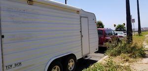 Travel trailer/ toy hauler/ car hauler for Sale in San Pedro, CA