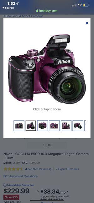 Nikon Camera $175 for Sale in Midland, TX