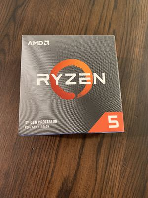 **NEW** Ryzen 5 3600 CPU for Sale in Mission Viejo, CA