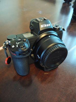 Nikon Z6 w/ FTZ Adapter + 64GB Sony XQD Card + Sony XQD Card Reader + Dual Battery Charger for Sale in Haines City, FL