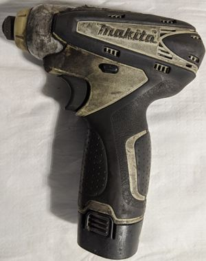 Makita Compact TD090D Impact Driver 10.8V Li-ion Works Perfectly! for Sale in Tampa, FL