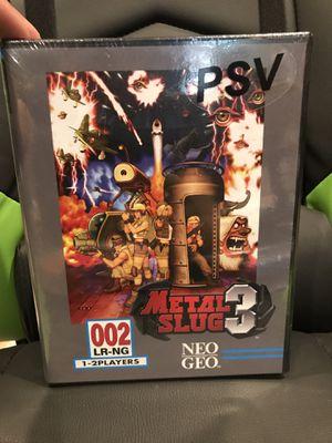 Metal Slug 3 for PlayStation Vita for Sale in Long Beach, CA