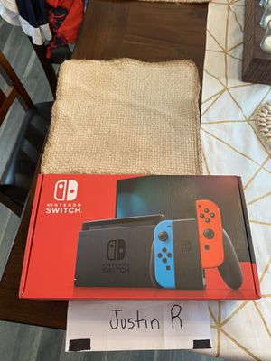 Nintendo Switch Console Neon Blue/Neon Red Joy-Cons *NEWEST MODEL* for Sale in Queens, NY