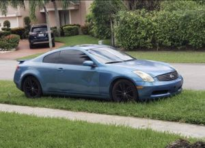 2003 Infiniti G35 For sale Project car for Sale in Pembroke Pines, FL