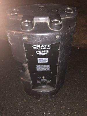 Crate audio psm12 1000watt speakers for Sale in Kent, WA