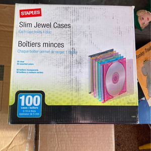 CD Cases (100) for Sale in Mount Rainier, MD