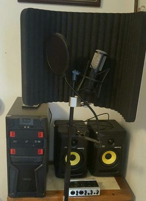 Full audio recording station for Sale in Sevierville, TN