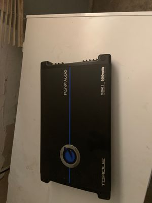 Planet Audio 2000 watt Torque Amp. Damn good condition for Sale in Fresno, CA