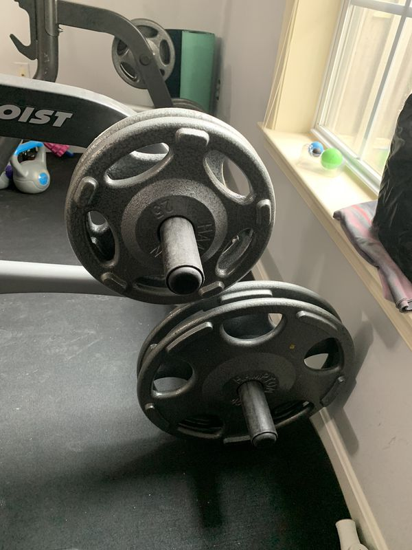 Bench/ Squat/ Pull up. Weight Set