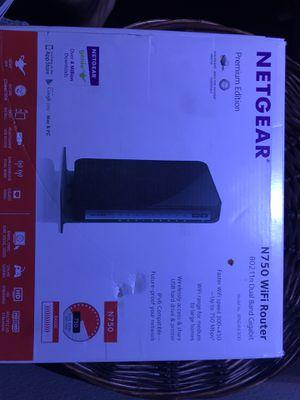 Netgear Router N750 for Sale in Turlock, CA